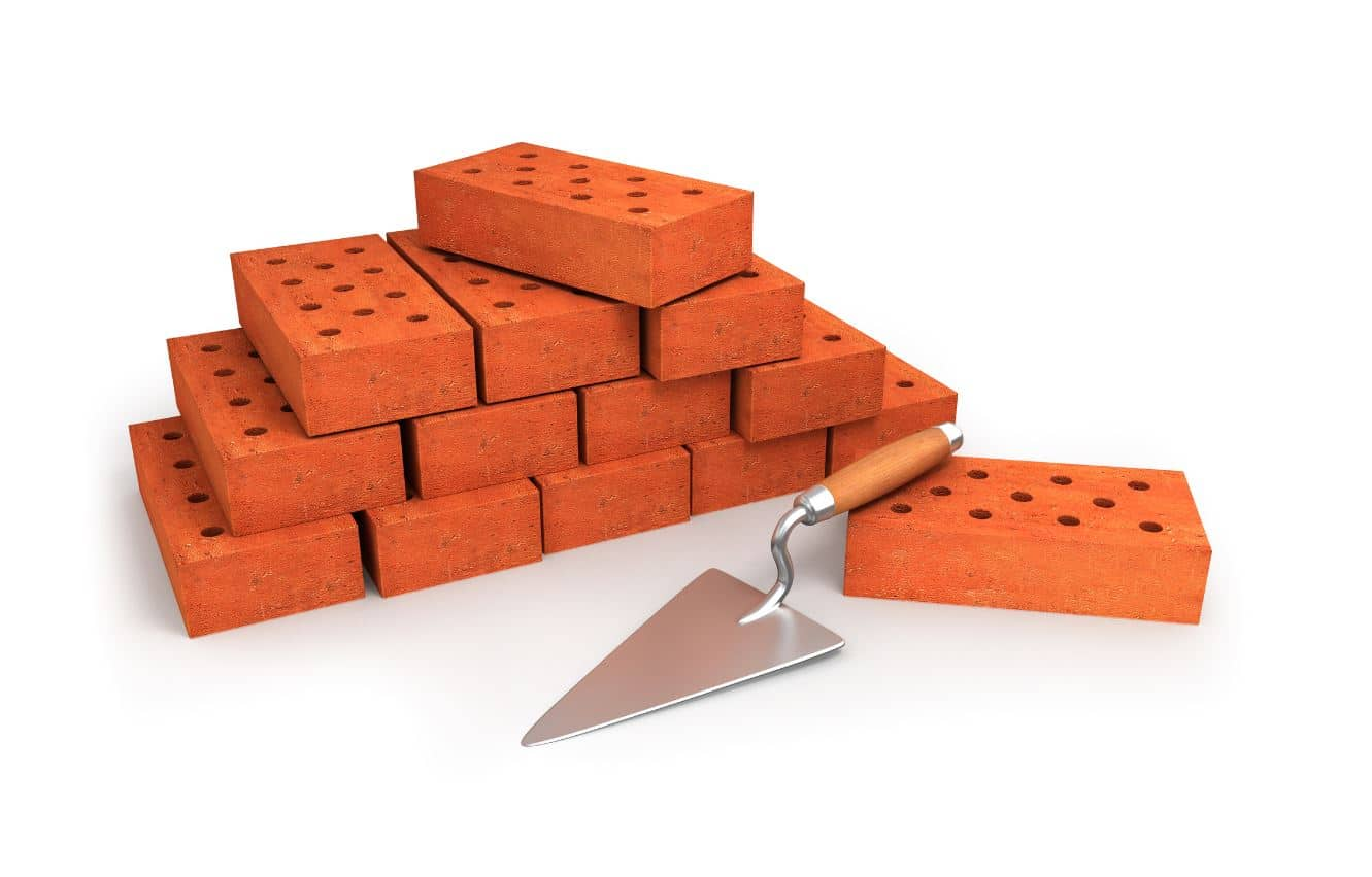 bricklaying work